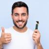Shoppy VGR akkumulátoros haj és szakállvágó, trimmelő, zöld