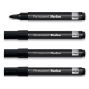 SIGEL 1-3 mm kúpos fekete alkoholos marker (4 db/csomag)