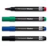 SIGEL Alkoholos marker készlet, 1-3 mm, kúpos, SIGEL, 4 különböző szín
