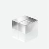 "SIGEL Extra erős kockamágnes,""C10, 4 db, SIGEL ""SuperDym""  ezüst"