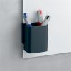 """SIGEL Írószertartó pohár, SIGEL, """" Artverum® Clip&Organise"""", antracit-szürke"""