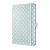 """SIGEL Jegyzetfüzet, exkluzív, 135x203 mm, vonalas, 174 oldal, keményfedeles, SIGEL """"Jolie"""", Pastel Blue"""