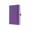 SIGEL Jegyzetfüzet, exkluzív, A5, kockás, 194 oldal, keményfedeles, SIGEL Conceptum, mágikus lila