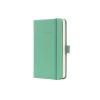 """SIGEL Jegyzetfüzet, exkluzív, A6, vonalas, 194 oldal, keményfedeles, SIGEL """"Conceptum"""", halvány zöld"""