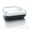 """SIGEL Jegyzettömbtartó, műanyag, 76x76 mm, SIGEL """"EyeStyle"""" fehér"""