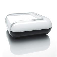"""SIGEL Jegyzettömbtartó, műanyag, 76x76 mm, SIGEL """"EyeStyle"""" fehér jegyzettömb"""