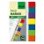 SIGEL Jelölőcímke, műanyag, 7x40 lap, 12x50 mm, SIGEL