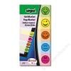 SIGEL Jelölőcímke, papír, 5x40 lap, 20x50 mm, SIGEL Smile, vegyes szín (SIHN502)