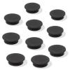 SIGEL Mágneskorong, 25 mm, 10 db/csomag, SIGEL, fekete (SDMU196)