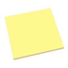 SIGEL Öntapadó jegyzettömb, elektrosztatikus, 100x100 mm, 100 lap, SIGEL, sárga jegyzettömb