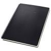 """SIGEL Spirálfüzet, exkluzív, A4, vonalas, 80 lap, keményfedeles, SIGEL """"Conceptum"""", fekete"""