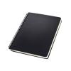 """SIGEL Spirálfüzet, exkluzív, A5, vonalas, 80 lap, keményfedeles, SIGEL """"Conceptum"""", fekete"""