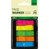 """SIGEL """"Z"""" 12x45 mm műanyag vegyes színű jelölőcímke (5x40 lap)"""