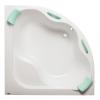 Siko Syntia PLUS akril fürdőkád 150x150cm akryl sarokkád, 5mm-es akrilból