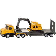 Siku Scania kamion markolóval 1:87 - 1611 autópálya és játékautó