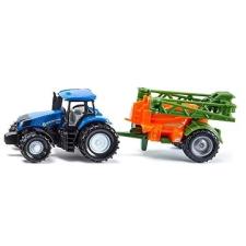 Siku Super – traktor s přívěsem na rozprašování hnojiva autópálya és játékautó