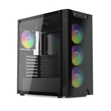 SilentiumPC Armis AR6X Evo TG ARGB Black számítógép ház