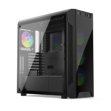 SilentiumPC Armis AR7X Evo TG ARGB Black számítógép ház