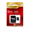 Silicon Power 16GB Micro Secure Digital Card + SD adapter CL6 SP016GBSTH006V10-SP
