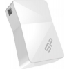 Silicon Power memory USB Touch T08 8GB USB 2.0 White