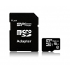Silicon Power MICRO SDHC Silicon Power 16GB UHS-I Superior 1 Adapter (90MB/s | 45MB/s) U1 (SP016GBSTHDU1V10SP)