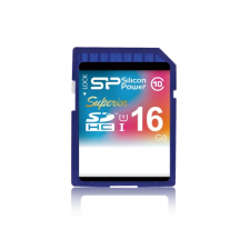 Silicon Power SDHC 16GB Superior UHS-I memóriakártya