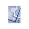 SilverBall Spirálos zsebkönyv A5 50lapos VONALAS SilverBall <10db/csom>