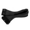 Silverstone 24-Pin ATX - 24-Pin ATX hosszabbító - 300mm fekete