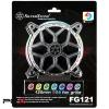 Silverstone sst-fg121 rgb led 120mm ventilátor rács