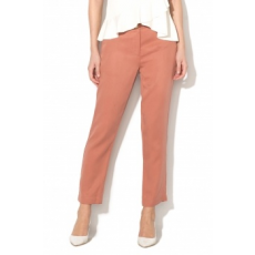 Silvian Heach Collection , Urupema lyocell crop chino nadrág, Koptatott piros, 44 (PGP18363PA-PHARD-44)