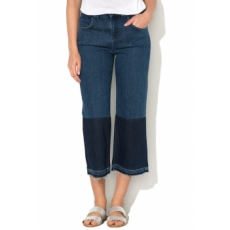 Silvian Heach Collection Vignale Kék Crop Farmernadrág 28 (PGP17793JC-JEANS-BLU-SCURO-28)