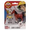 Simba Sam a tűzoltó állatmentő készlet - többféle