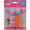 Simba Toys New Born Baby - Mágikus cumisüveg szett