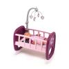 Simba Toys Smoby 220343 Baby Nurse Babaágy kiságyforgóval