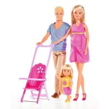 Simba Toys Steffi Love - Terhes Steffi és Kevin baba kislányukkal (105733200) baba