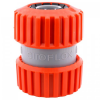 """SIROFLEX/4481/ ÖSSZEKÖTŐ 3/4? TÖMLŐKRE - UV álló műanyag tömlőösszekötő, 3/4"""" tömlőcsatlakozó végekkel. 3/4 collos slagok összecsatlakoztatására. Siroflex Ltd. olasz gyártás."""