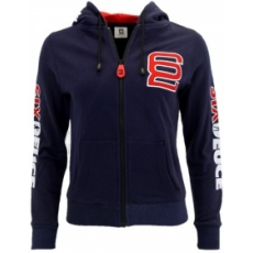 Six Deuce Fitness Series Hooded Full-Zip Sweatshirt (kék) (1 db)