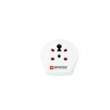Skross Adapter, Európába utazóknak, földelt, SKROSS kábel és adapter