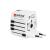 Skross Adapter, MUV hálózati csatlakozó, USB töltő, földeletlen, SKROSS