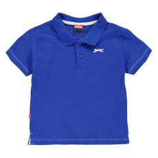 Slazenger gyerek póló - Plain Polo Shirt Infant Blue