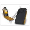 Sligo bőrtok - Samsung S3650 Corby - fekete