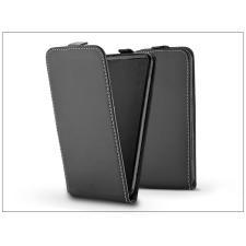 Slim Flexi Flip bőrtok - Sony Xperia XZ1 Compact (G8441) - fekete tok és táska