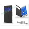 Slim Slim Flexi Flip bőrtok - Nokia XL - fekete