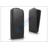 Slim Slim Flexi Flip bőrtok - Sony Xperia M4 Aqua (E2303/E2306/E2353) - fekete