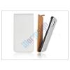 Slim Slim Flip bőrtok - Samsung SM-G900 Galaxy S5 - fehér