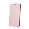 Smart magnet Huawei P Smart oldalra nyíló mágneses könyv tok szilikon belsővel rozéarany