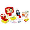 Smoby : Elektronikus pénztárgép mérleggel, piros színben