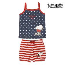Snoopy Fiú Nyári Pizsamát Snoopy 74587 Gyermek (2 Pcs) gyerek hálóing, pizsama