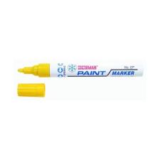 Snowman Lakkmarker SNOWMAN CP-12 4,5mm sárga filctoll, marker