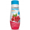 SodaStream Waters FRUITS vörösáfonya/málna szörp, 440 ml